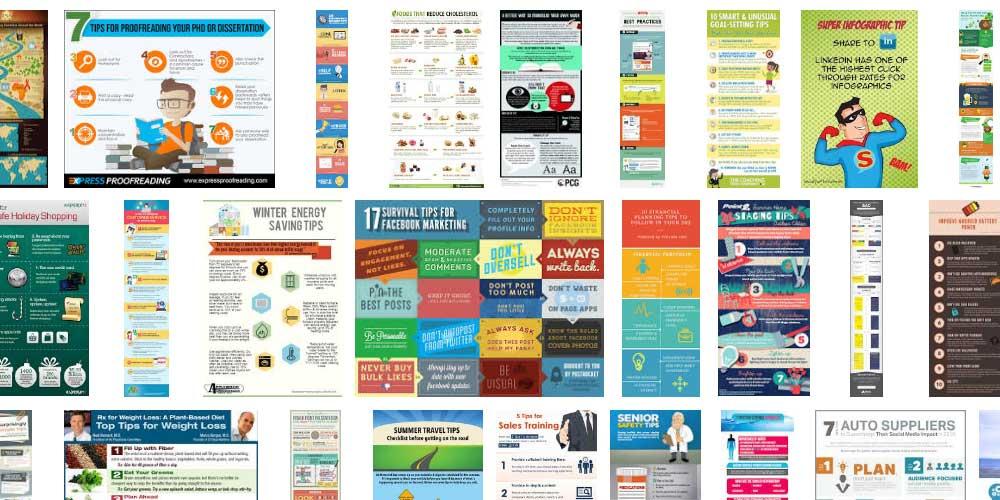 Инфографика примеры